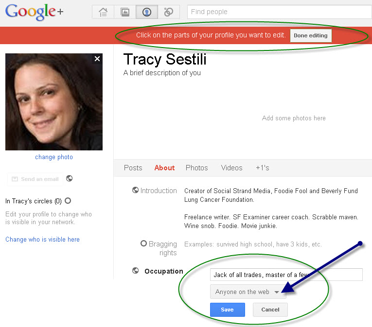 Google+ Privacy Settings Public Search