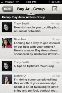 LinkedIn Mobile Group Discussions