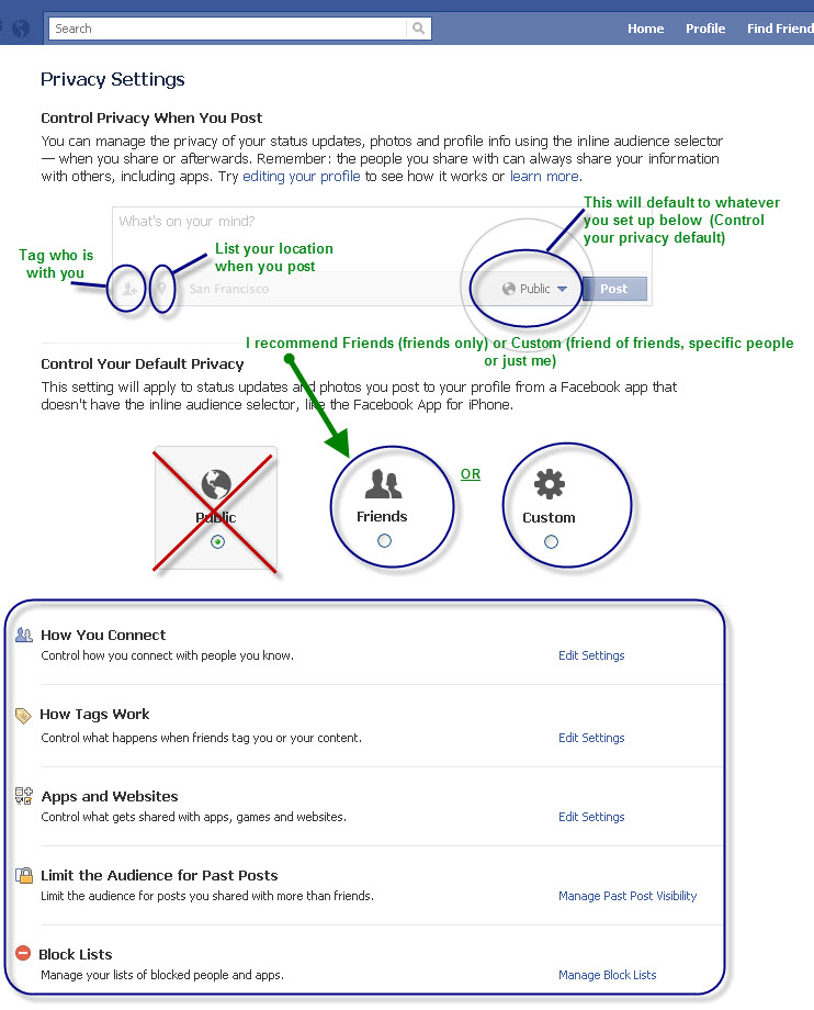 How to navigate Facebook's new privacy settings 2011